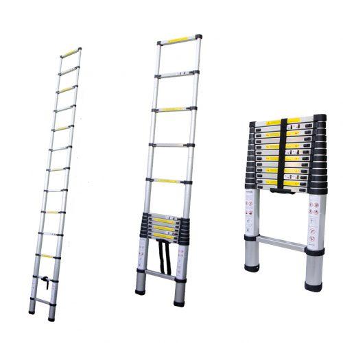 Лестницы телескопические приставные