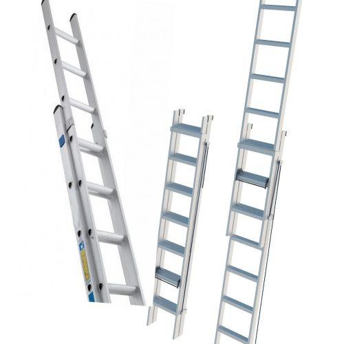 Лестницы выдвижные приставные